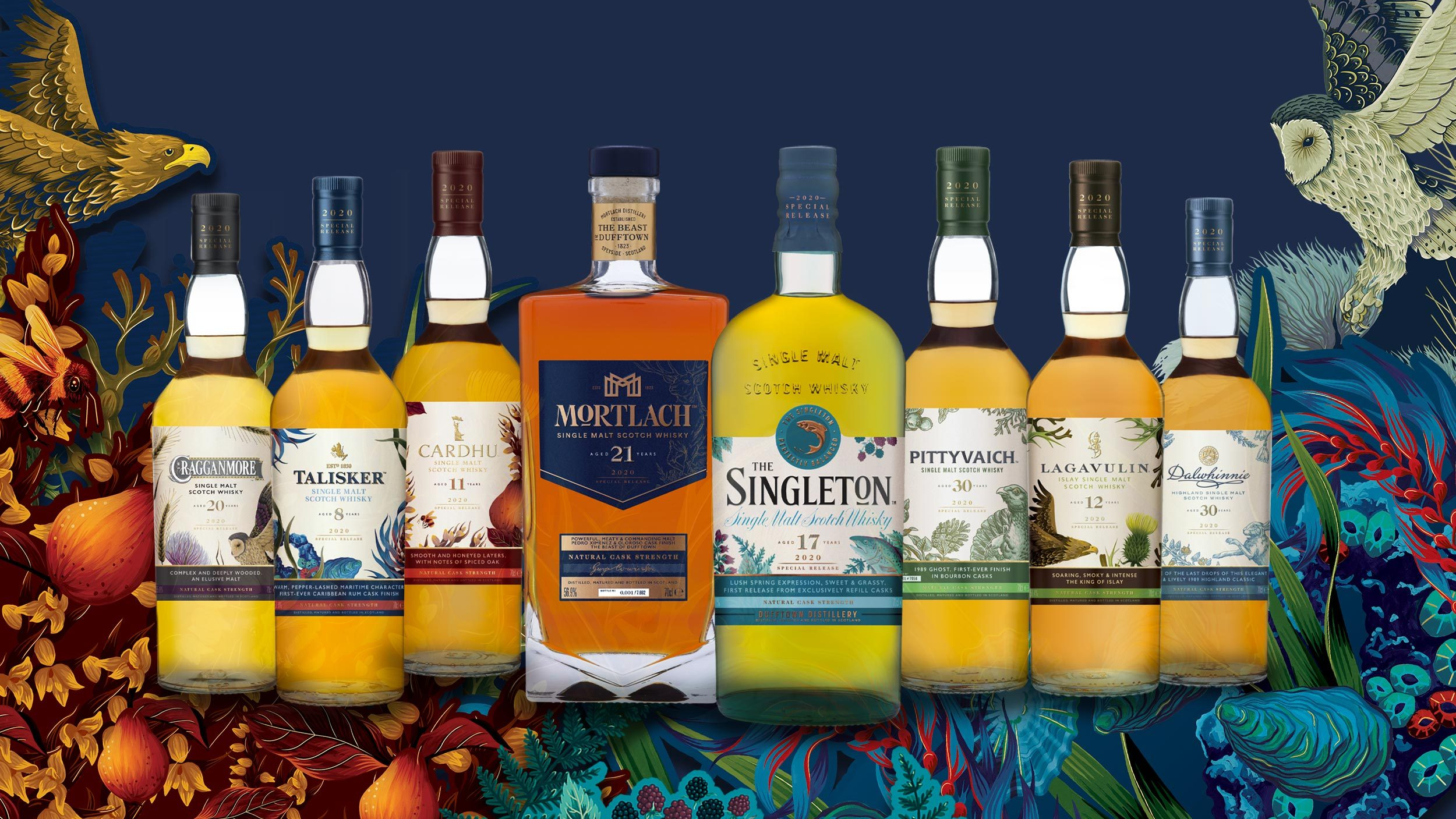 Diageo 2020 Special Releases: Rare by Nature