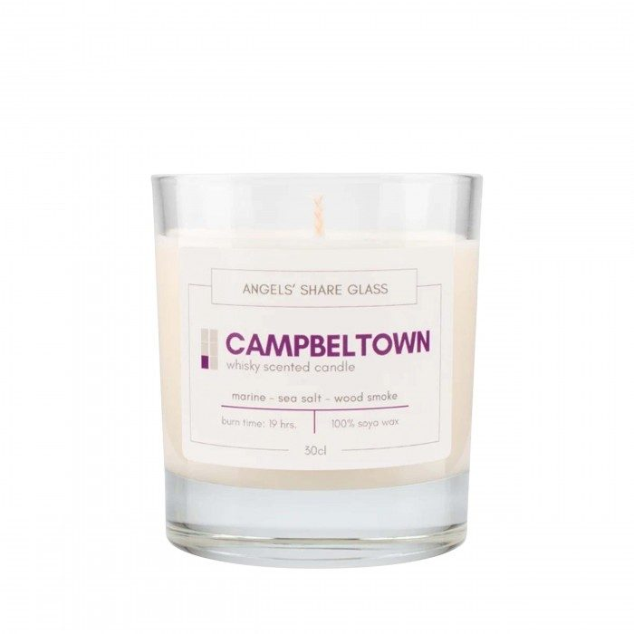 Campbeltown Whisky Scented Candle