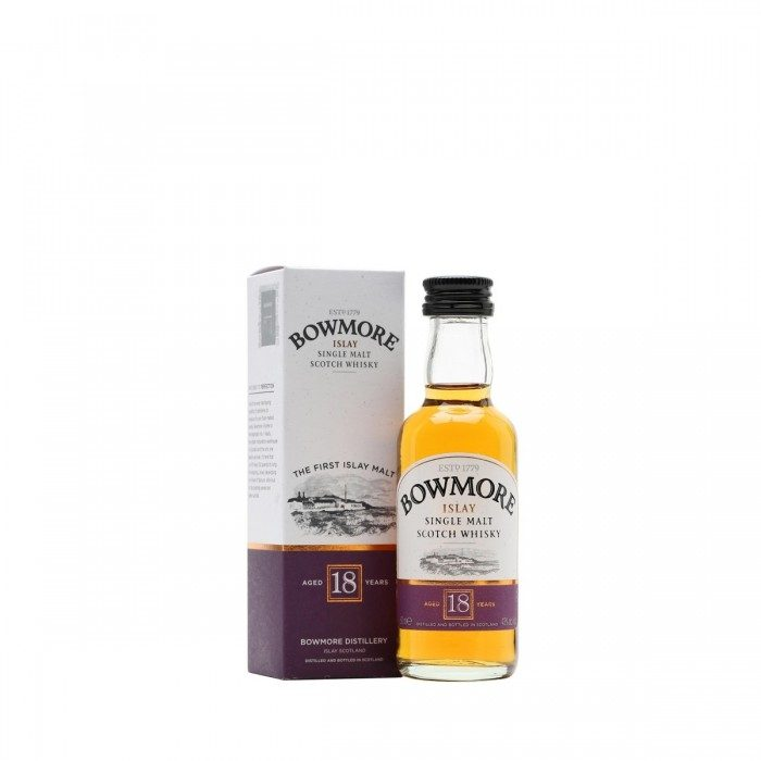 Bowmore 18 year old 5cl
