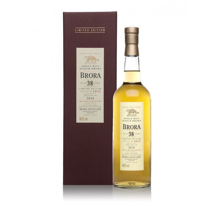 Brora 38 Year Old 2016 Special Release