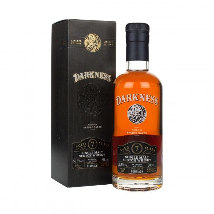 Darkness Benriach 7 Year Old Oloroso Cask