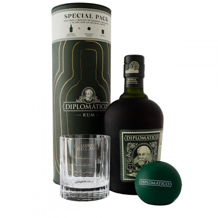 Diplomatico Ice Mould Canister Gift Set