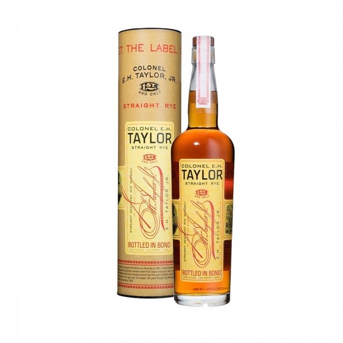 EH Taylor Rye with box