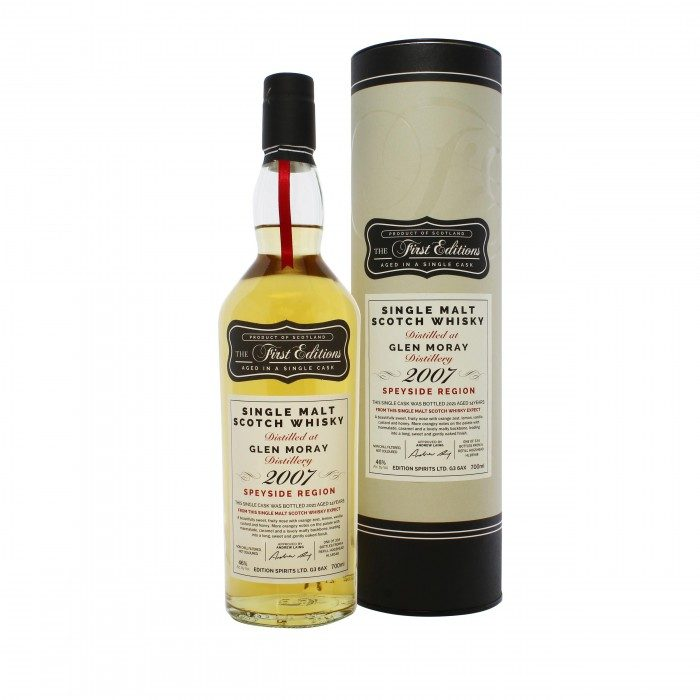 First Editions Glen Moray 2007 14 Year Old