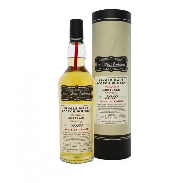 First Editions Mortlach 2010