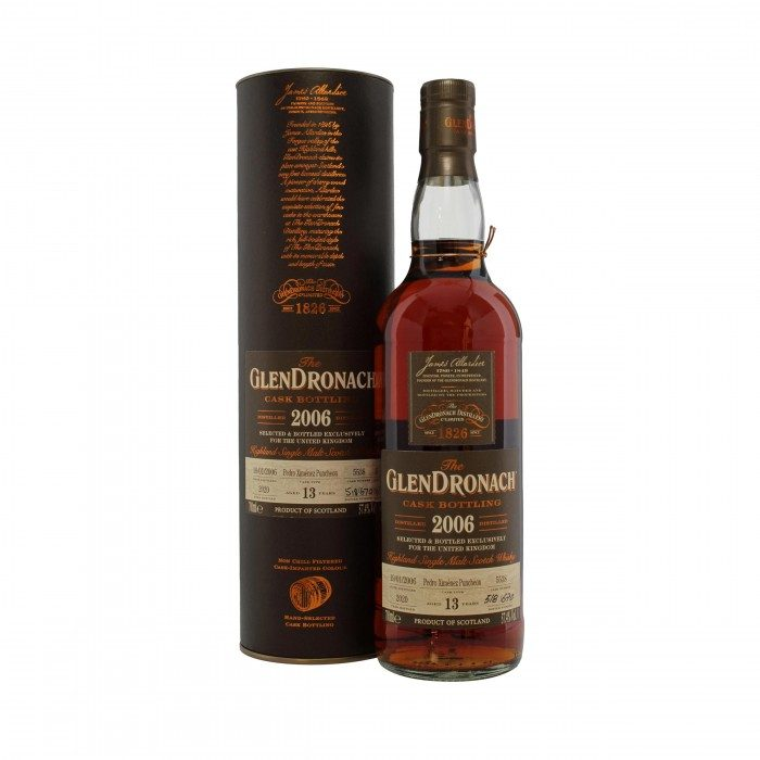 Glendronach 2006 13 Year Old #5538 UK Exclusive