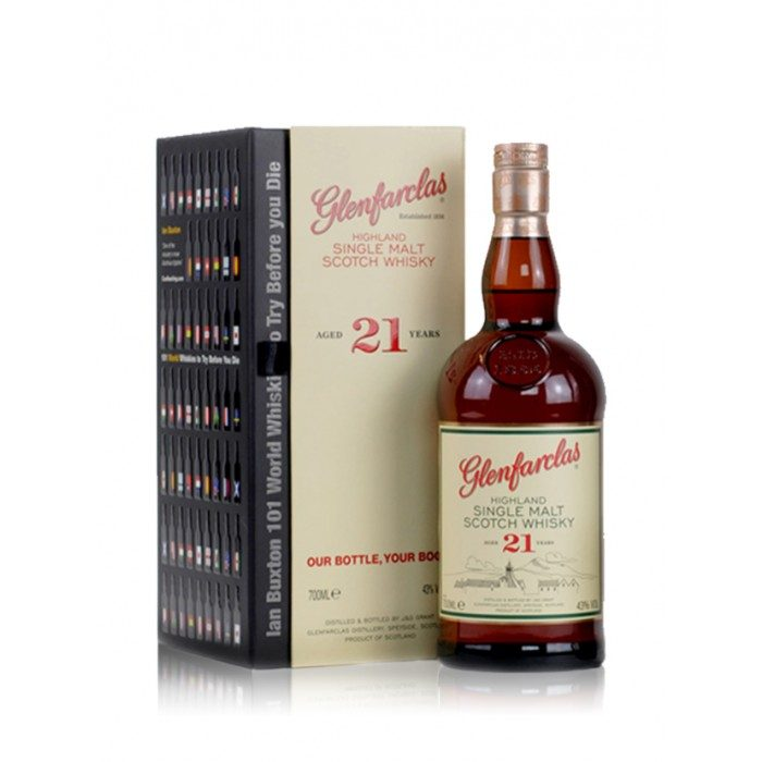 Glenfarclas 21 year old with Ian Buxton's 101 World Whiskies to Try Before You Die