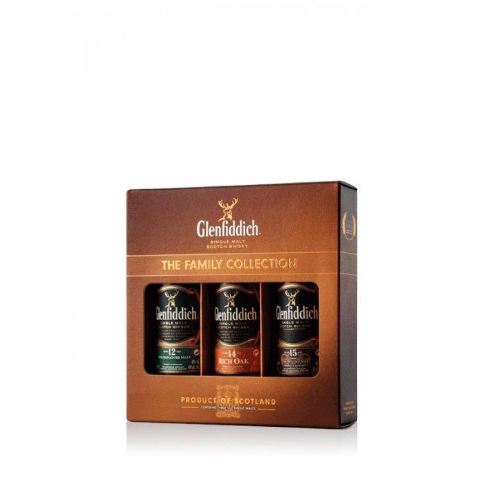 Glenfiddich The Family Collection 3x5cl