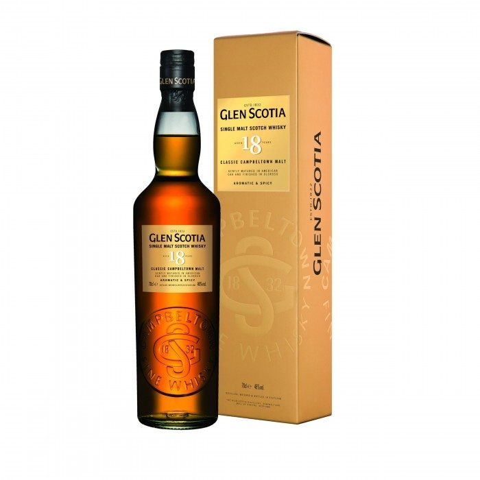 Glen Scotia 18 Year Old with box