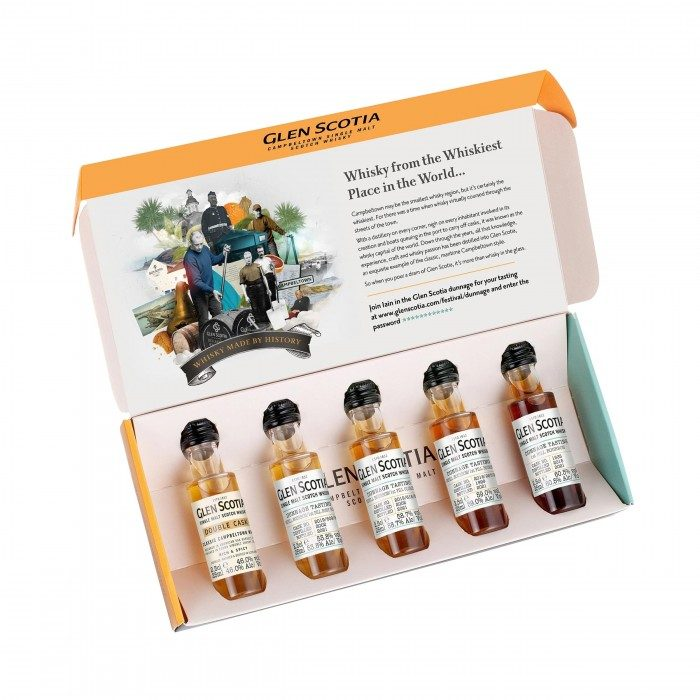 Glen Scotia Dunnage Tasting Pack