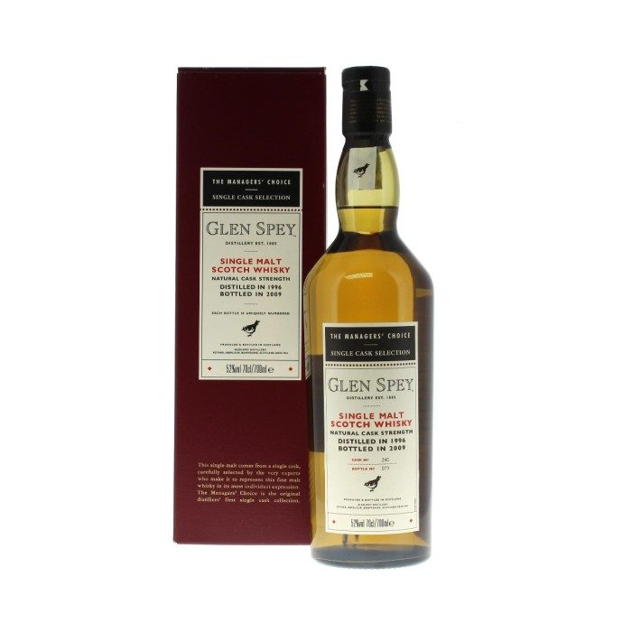 Glen Spey 1996 Managers' Choice with box