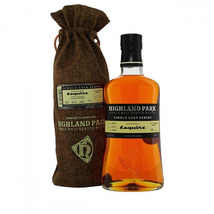 Highland Park Esquire with bag