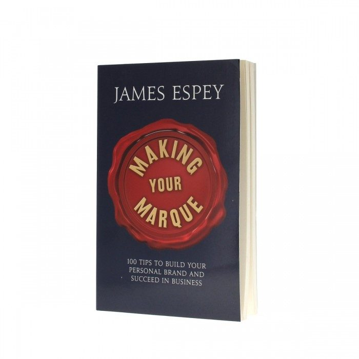 James Espey's Making Your Marque