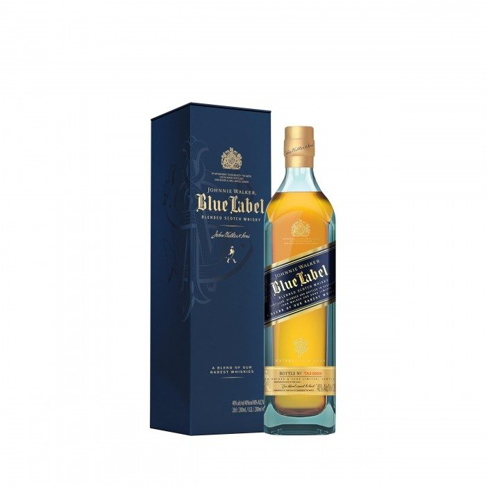 Johnnie Walker Blue Label 20cl with box
