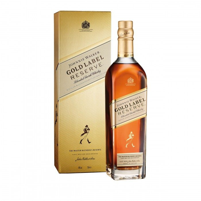 Johnnie Walker Gold Label Reserve with box