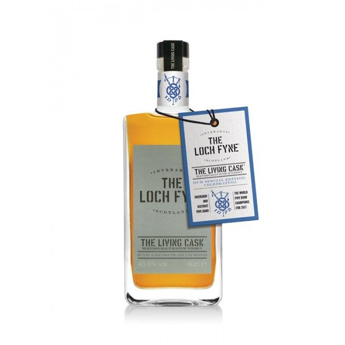The Loch Fyne - The Living Cask - Batch 4 - Inveraray & District Pipe Band Edition
