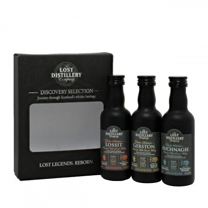 The Lost Distillery Co. Discovery Selection Gift Pack 3x5cl