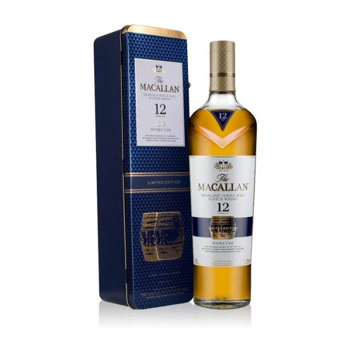 Macallan 12 Year Old Double Cask Gift Tin