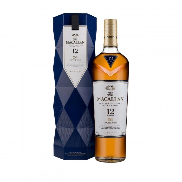 Macallan 12 Year Old Double Cask with limited edition Gift Box