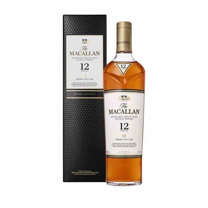 Macallan 12 Year Old Sherry Oak Limited Edition Gift Tin