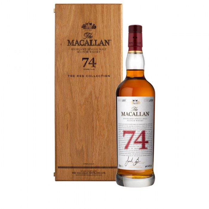 Macallan 74 ans Red Collection