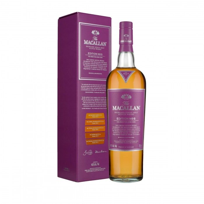 The Macallan Edition No.5 with box
