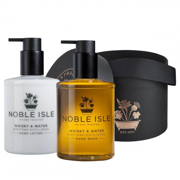 Noble Isle Whisky & Water Hand Wash & Hand Lotion Gift Box
