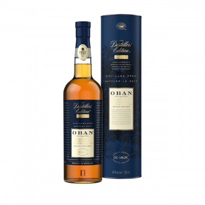 Oban Distillers Edition with box
