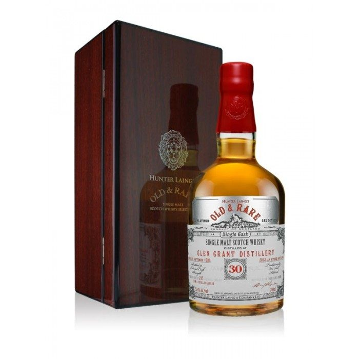 Glen Grant 30 Year Old Platinum Old & Rare with case