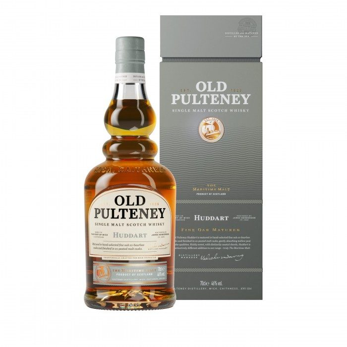 Old Pulteney Huddart with box