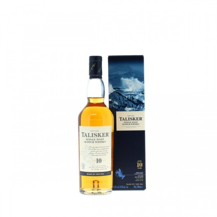 Talisker 10 year old 20cl with box