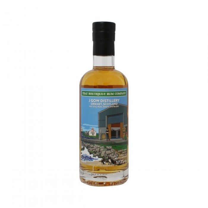 J Gow 2 Year Old Rum Home Nations Series That Boutique-y Rum Company