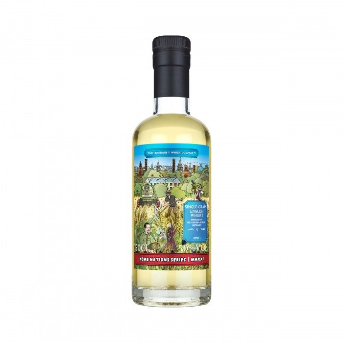 The Oxford Artisan Distillery 3 Year Old Home Nations Series That Boutique-y Whisky Company