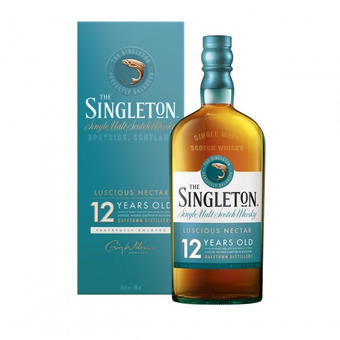 Singleton of Dufftown 12 Year Old with box