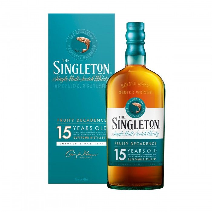 Singleton of Dufftown 15 Year Old with box