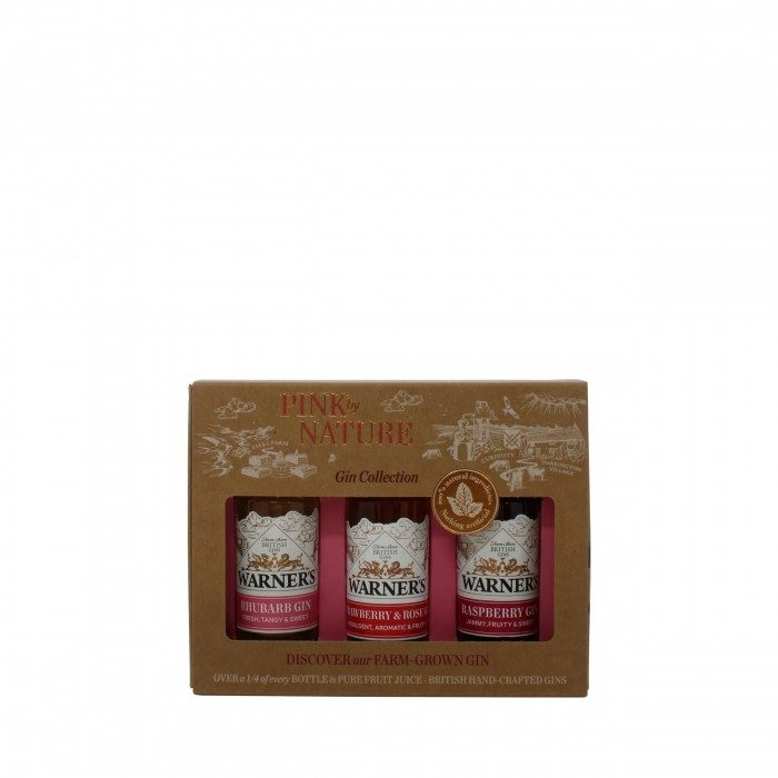 Warner's Pink by Nature Gift Set 3x5cl