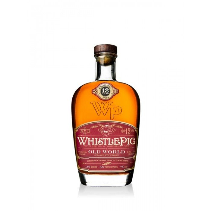 WhistlePig Old World 12 Year Old