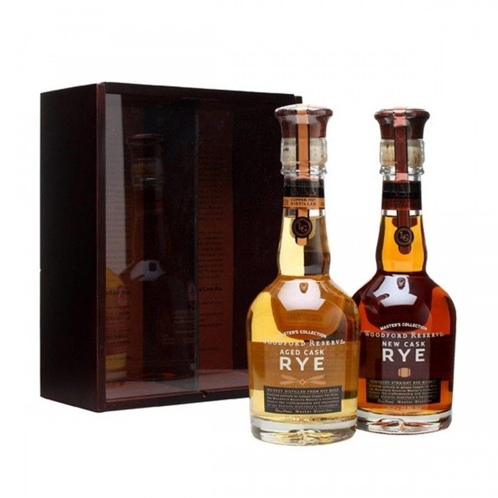 Woodford Reserve Cask Rye Twin Pack 2x35cl