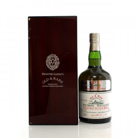 Aultmore 1982 37 Year Old Single Cask Hunter Laing Platinum Old & Rare