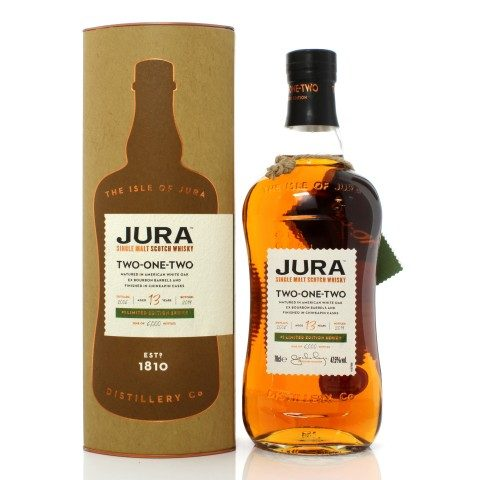 Jura 2006 13 Year Old Two-One-Two #1 Limited Edition Series