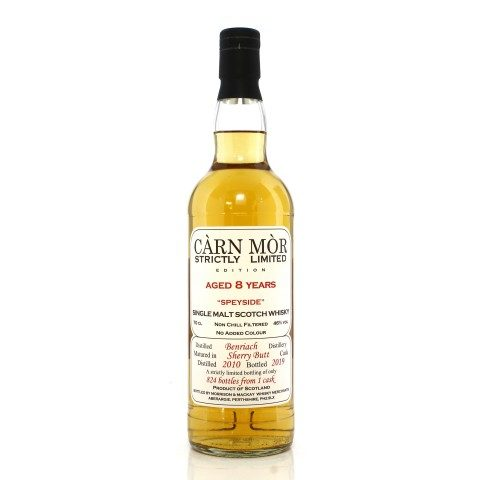 Benriach 2010 8 Year Old Single Cask Carn Mor Strictly Limited