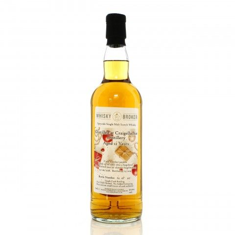 Craigellachie 2007 12 Year Old Single Cask #900680 Whisky Broker