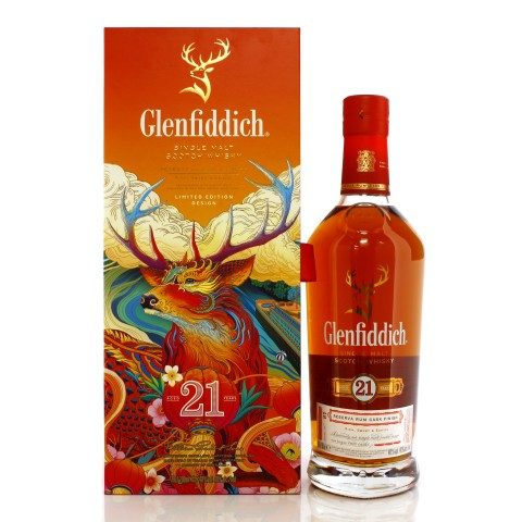 Glenfiddich 21 Year Old Gran Reserva Rum Cask Finish Chinese New Year