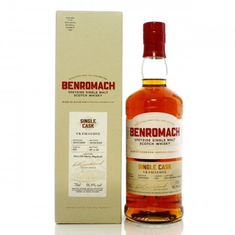 Benromach 2008 11 Year Old Single Cask #851 - UK