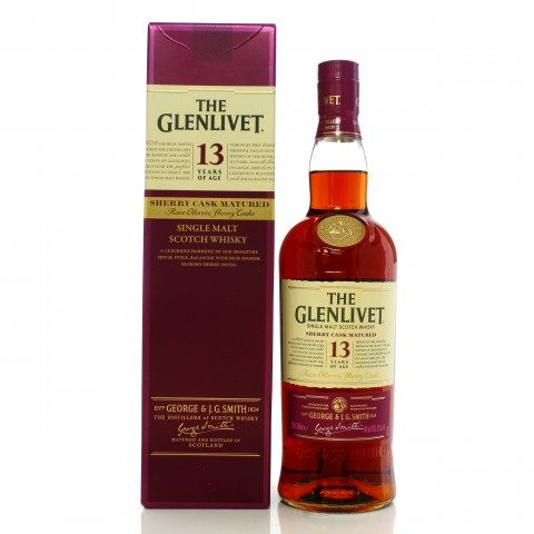 Glenlivet 13 Year Old Sherry Cask - Taiwan Exclusive