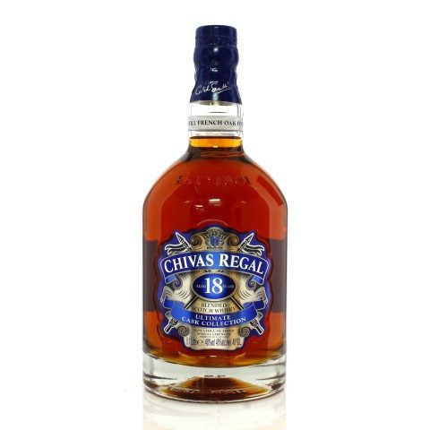 Chivas Regal 18 Year Old Ultimate Cask Collection - Travel Retail