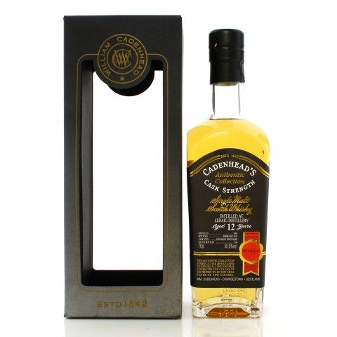Ledaig 2008 12 Year Old Cadenhead's Authentic Collection