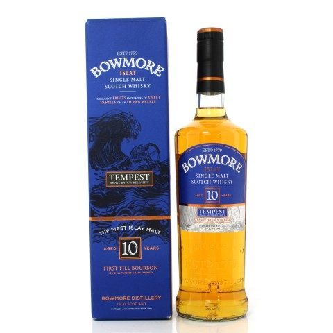 Bowmore 10 Year Old Tempest Small Batch Release No.5