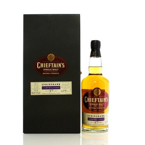 Springbank 1969 37 Year Old Chieftain's