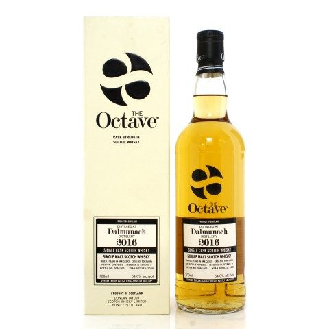 Dalmunach 2016 3 Year Old Single Cask #10825885 Duncan Taylor The Octave